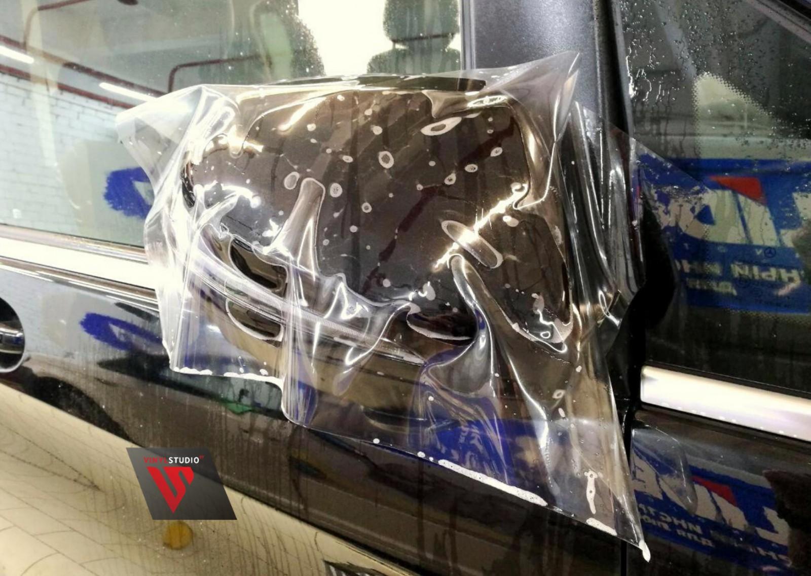 антигравийная оклейка авто фото