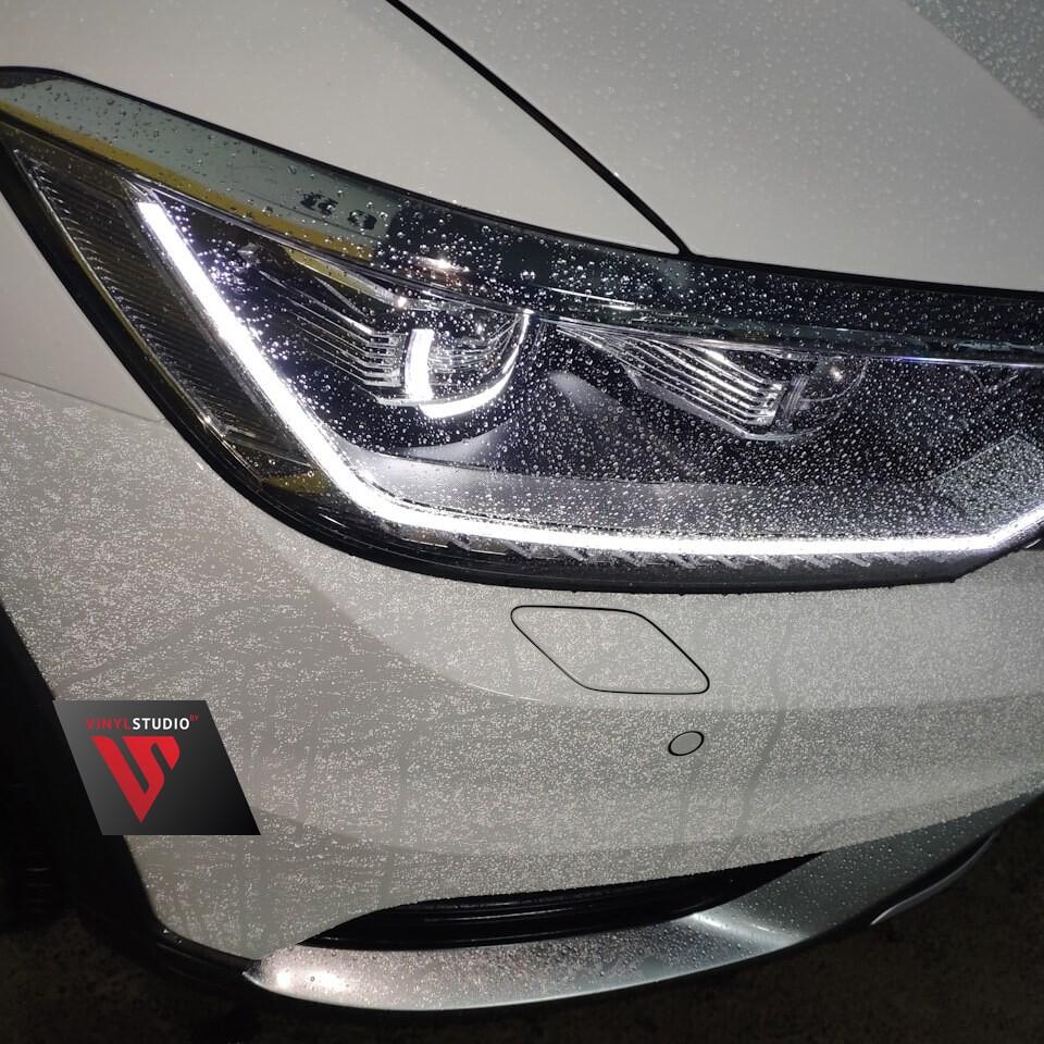 Гидрофобный эффект полиуретановой пленки для авто Spectroll